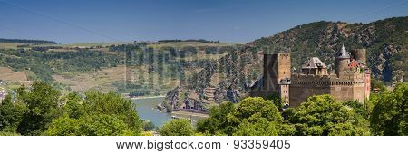 Panorama Of Castle Schoenburg