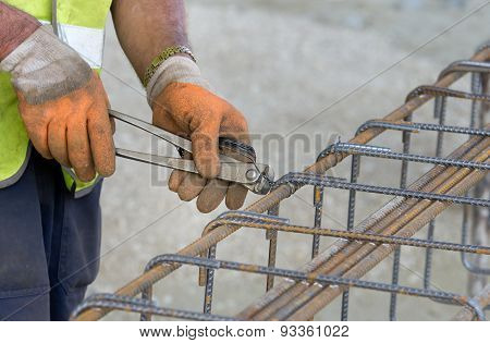 Worker Fixing Armature