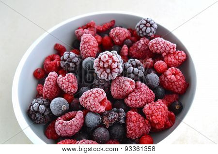 Frozen Summer Berries
