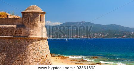 Citadel Miollis. Ajaccio, Corsica. France.