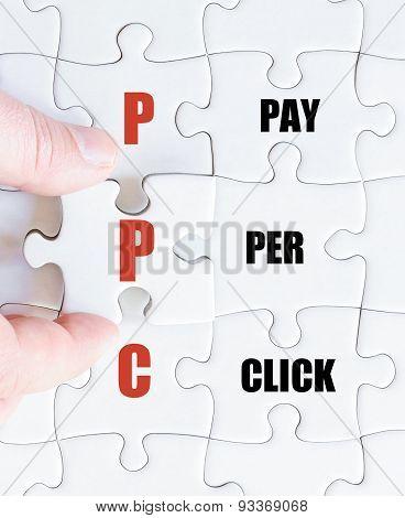 Last Puzzle Piece With Business Acronym Ppc