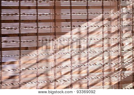 Bamboo Shade Textured Background