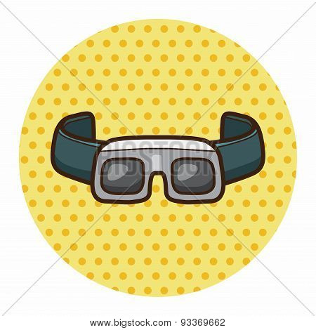 Laboratory Goggle  Theme Elements