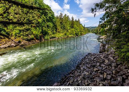 The Beautiful Snoqualmie River