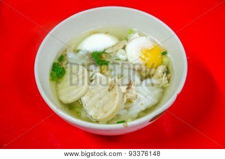 Vietnamese Noodle Soup Or Pork Spare Ribs Rice Noodles Soup
