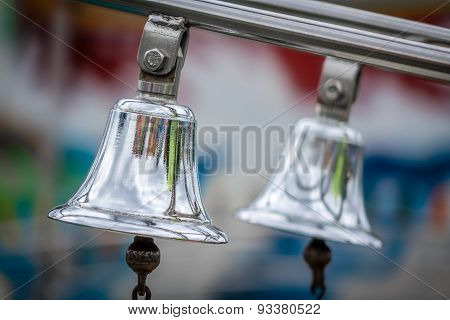 Two silver bells