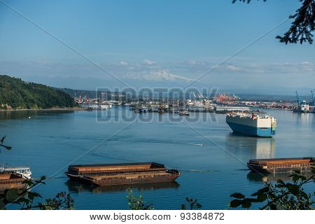 Port Of Tacoma Activity