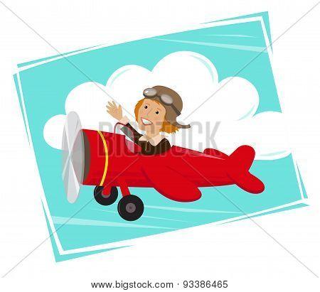 Amelia Flying