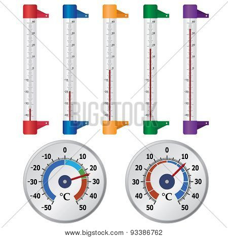 Thermometers For Windows.