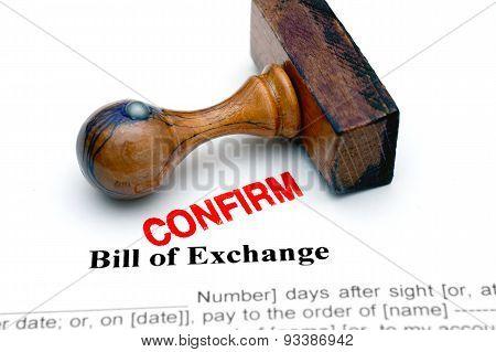 Bill Of Exchange