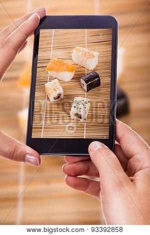 Photographing Sushi