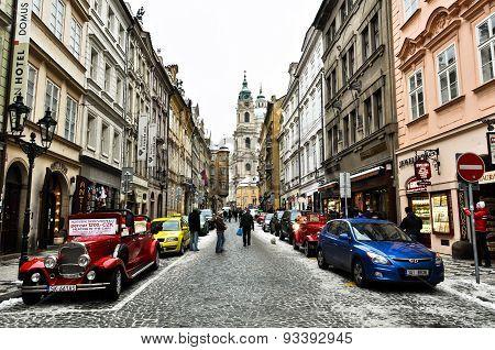 Prague Old Town Street