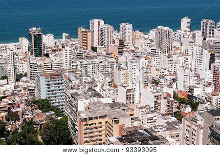 Buildings in Ipanema, Rio de Janeiro