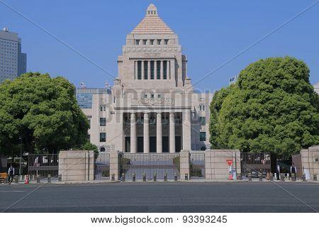 National Diet Building Tokyo Japan