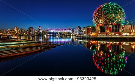 Science World In Vancouver, Canada