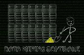 pic of gold mine  - data mining software - JPG