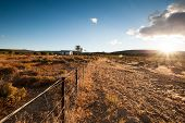 foto of semi-arid  - Image of the arid Karoo Desert in South Africa showing its raw natural beauty - JPG