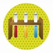 picture of beaker  - Test Tubes And Beakers Theme Elements - JPG