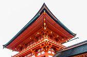 stock photo of inari  - Fushimi Inari shrine in Kyoto of Japan - JPG