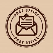 stock photo of old post office  - post office  design - JPG