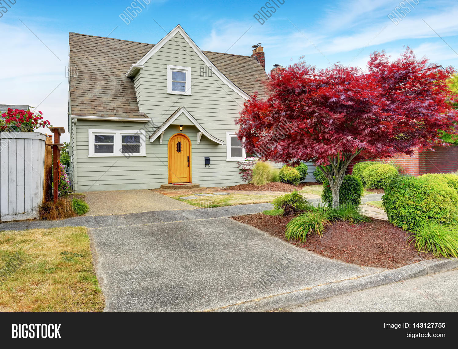 Classic american house exterior image photo bigstock for Classic american house