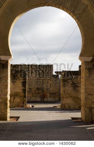 Archway In Moorish Palace