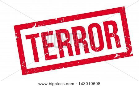 Terror Rubber Stamp