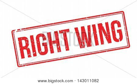 Right Wing Rubber Stamp