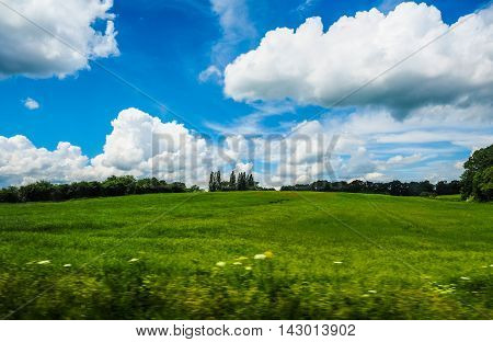 English Country Landscape Hdr