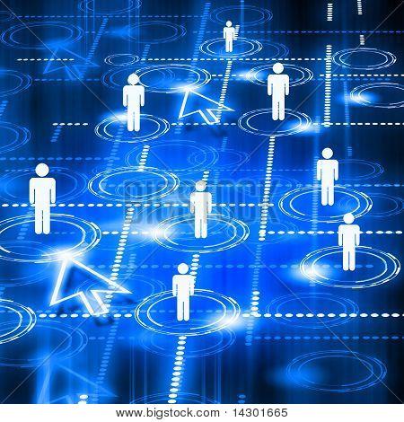 Modell des sozialen Netzes