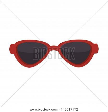 sunglasses sun eyewear optical protection see glasses cool vector illustration isolated