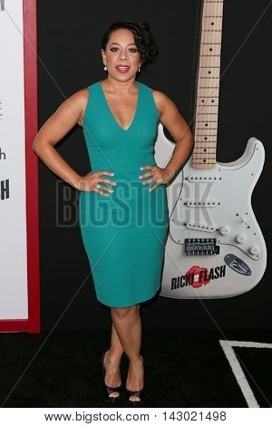 NEW YORK-AUG 3: Actress Selenis Leyva attends the 'Ricki And The Flash' New York premiere at AMC Lincoln Square Theater on August 3, 2015 in New York City.