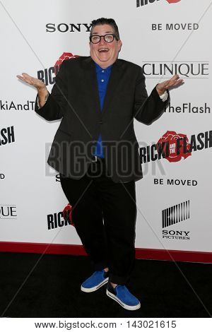 NEW YORK-AUG 3: Actress Lea DeLaria attends the 'Ricki And The Flash' New York premiere at AMC Lincoln Square Theater on August 3, 2015 in New York City.