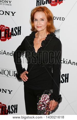 NEW YORK-AUG 3: Actress Swoosie Kurtz attends the 'Ricki And The Flash' New York premiere at AMC Lincoln Square Theater on August 3, 2015 in New York City.