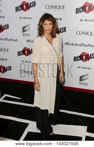 NEW YORK-AUG 3: Actress Jennifer Esposito attends the 'Ricki And The Flash' New York premiere at AMC Lincoln Square Theater on August 3, 2015 in New York City.