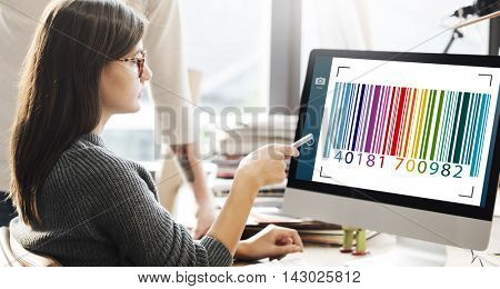 Barcode  Label Camera Focus Interface