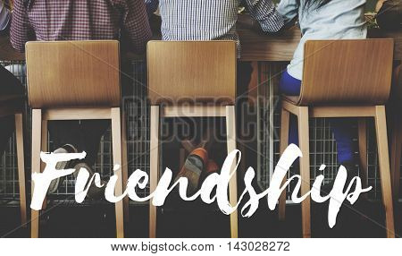 Friends Buddy Relationship Together Concept