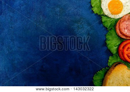 Sandwich Ingredients Frame