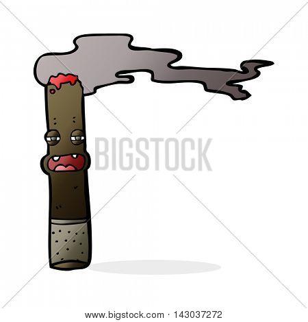 cartoon cigar character