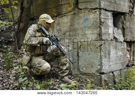 Green Berets US Army Special Forces Group soldier