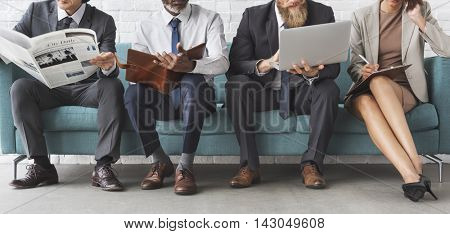 Corporate Professional Business Workers Concept