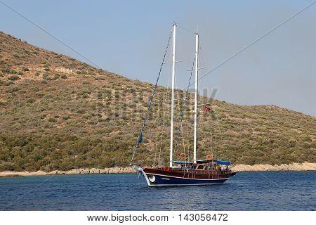 Sailboat In Bodrum