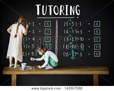 Learning Education Mathematics Calculation Teaching Concept