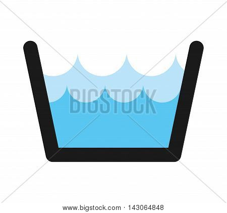 water tank isolated icon vector illustration design