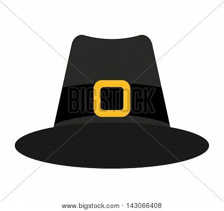 Witch hat isolated icon vector illustration design vector illustration design