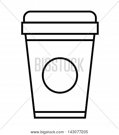 soda glass isolated icon vector illustration design