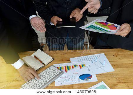 Business Man  Executive Meeting