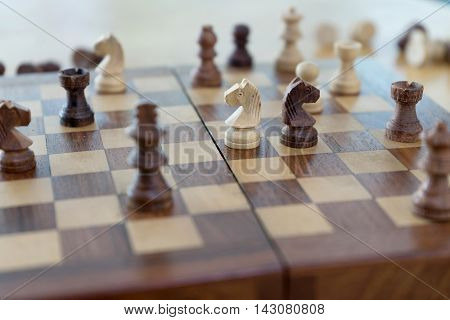 Chess Figure Business Game