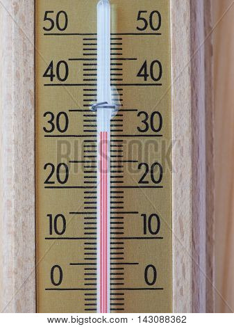 Thermometer For Air Temperature Measurement