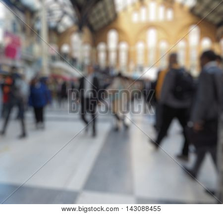 Blurred Defocused Background